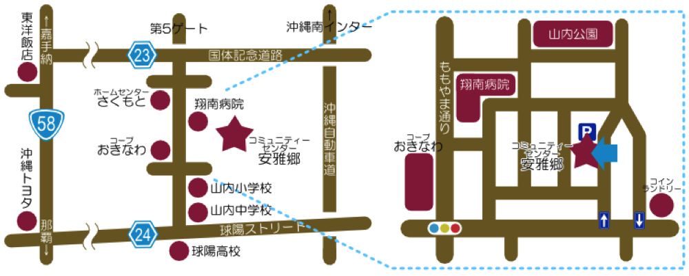 安雅郷MAP